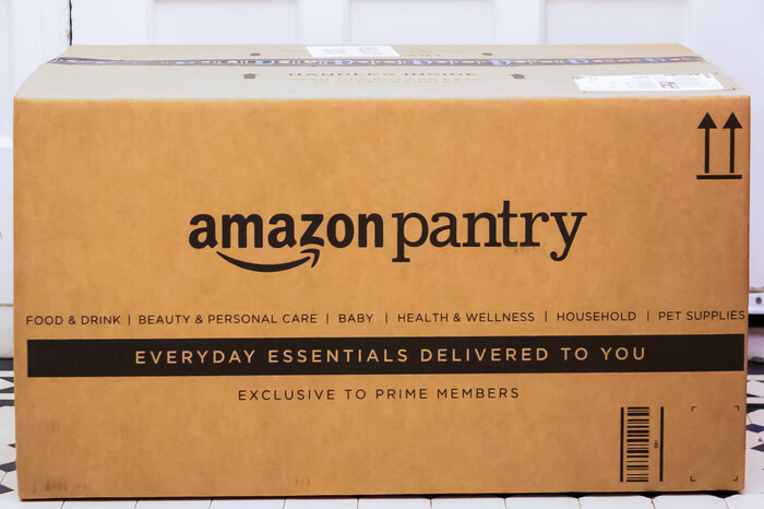 Amazon Pantry Lieferung