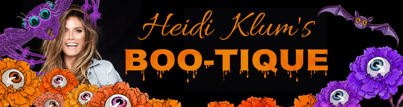 Halloween-Banner auf Amazon