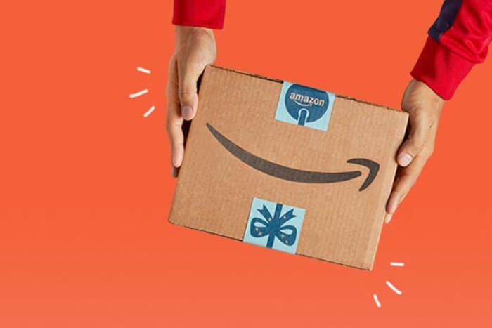 Screenshot, Cyber Monday Banner auf der Website von Amazon