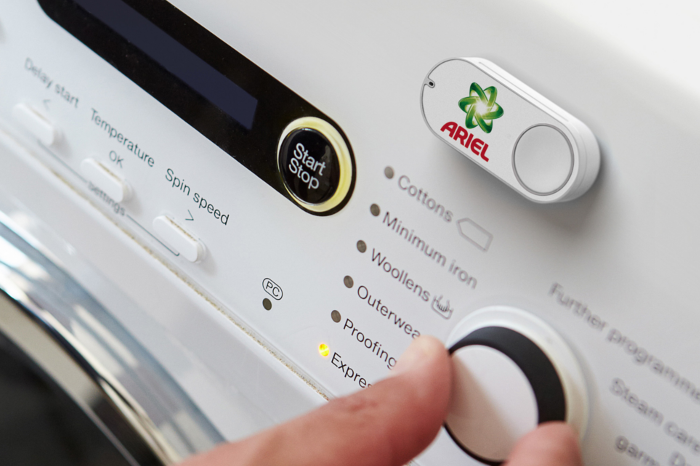 Amazon Dash-Button Waschmaschiene
