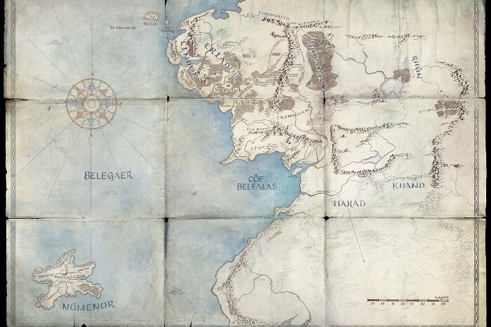 Herr Der Ringe Serie Diese Karte Gibt Neue Hinweise Amazon