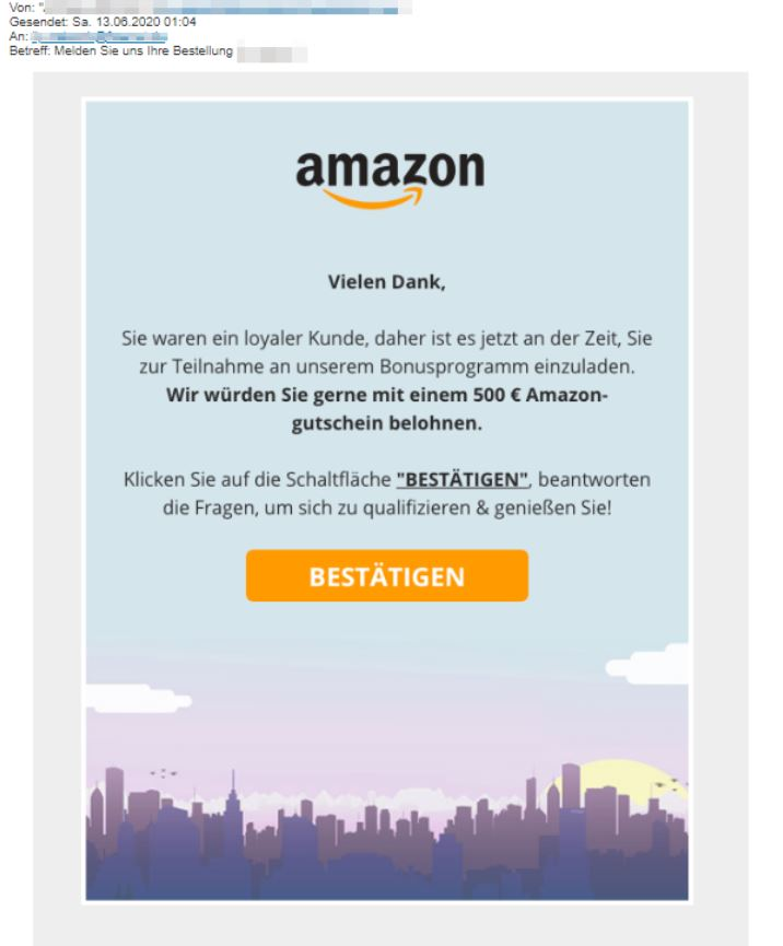 Amazon Spam-Mail