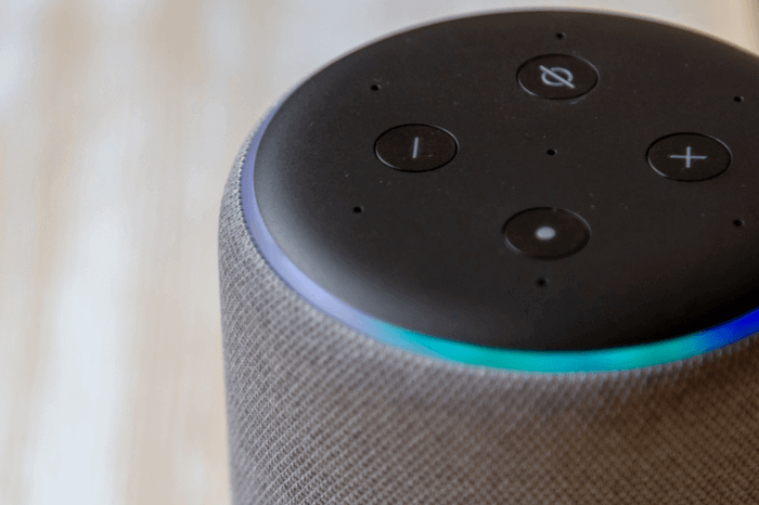 Amazon Echo in Nahaufnahme