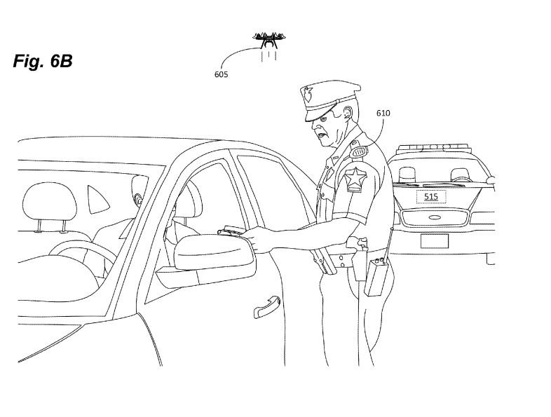 Patent einer fliegenden Mini-Drohne von Amazon