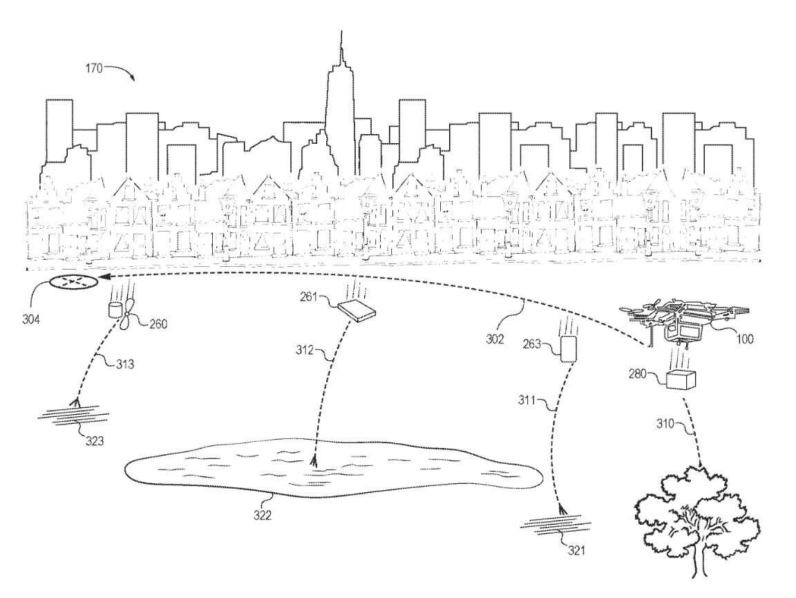 Patent für selbstzerstörende Drohne von Amazon