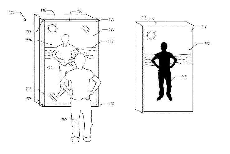 Patent für Hightech-Spiegel von Amazon