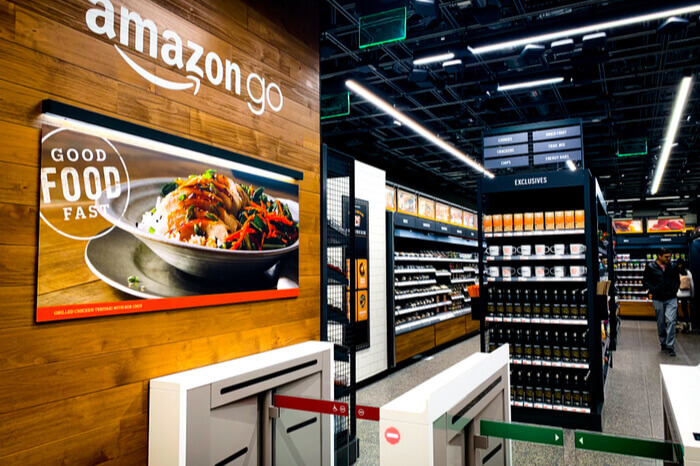 Filiale von Amazon Go: kassenloser Supermarkt