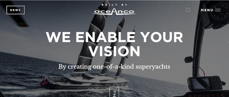 Screenshot Website Ocenaco