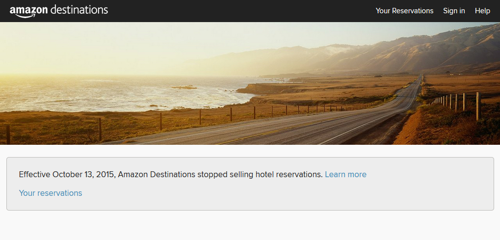 Amazon Destination, Screenshot