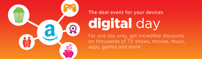 Amazon Digital Day: Banner