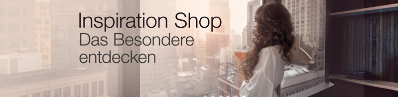 Amazon Inspiration Shop, Banner
