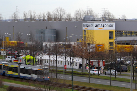 Amazon Logistikzentrum in Leipzig