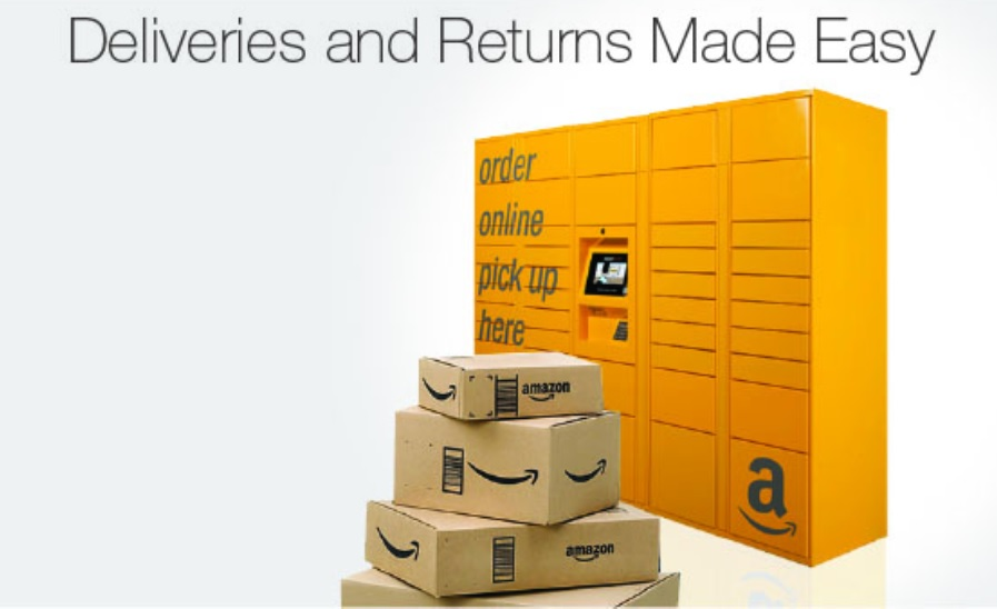 Abholstationen von Amazon