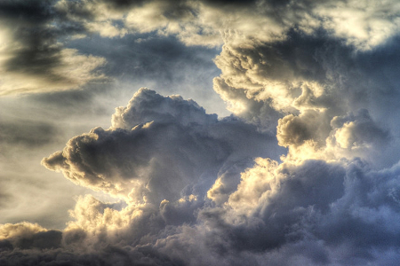 Wolken: HDR Clouds