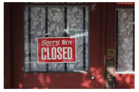 Sorry we´re closed