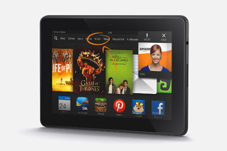 Amazon Kindle Fire HDX, Mayday