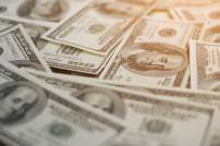 Geldscheine auf einem Haufen