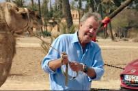 Clarkson mit einem Kamel