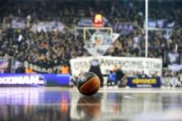 Herumliegender Basketball