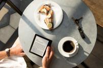 Kindle Oasis von Amazon im Einsatz