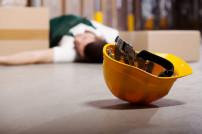 Lagerarbeiter Unfall