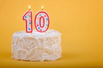 Geburtstagskuchen 10 Jahre