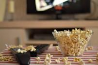 Popcorn & Fernsehfernbedienung