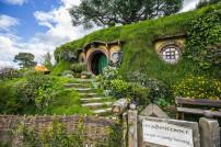 Hobbit-Höhle aus Der Herr der Ringe