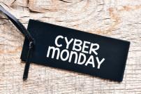 Ruf zur Rabattschlacht: Cyber Monday-Schild