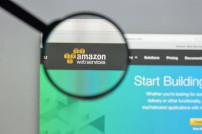 Homepage von Amazon Web Services