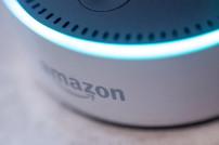 Aktivierter Echo-Lautsprecher von Amazon