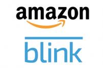 Amazon und Blink Logos