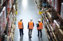 Mitarbeiter in der Logistik