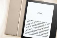 Screenshot: Abbildung des neuen Kindle Oasis in Gold