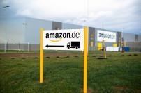 Amazon Logistikzentrum Schild