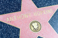 Anthony Hopkins auf dem Walk of Fame