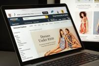 Amazon-Webseite Kleidung