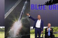 Jeff Bezos präsentiert Blue Origin