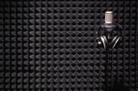 Tonstudio und Mikrophone