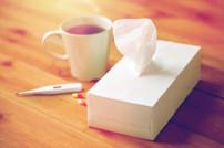 Taschentuch Teetasse