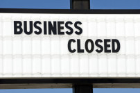 Zeichen Business closed