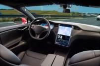 Selbstfahrendes Auto Cockpit