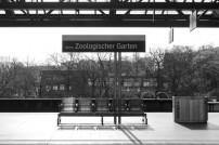 Am Bahngleis Zoologischer Bahnhof Berlin