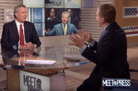 New Yorker Bürgermeister Bill de Blasio im TV-Interview bei NBC News