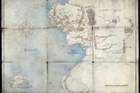 Karte der Mittelerde-Serie