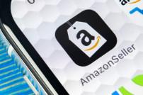 Amazon-Seller auf einem Smartphone
