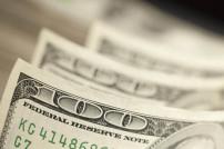 Nahaufnahme eines US-Geldscheins
