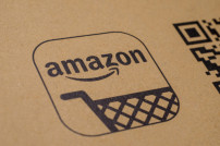 Amazon Logo auf Paket