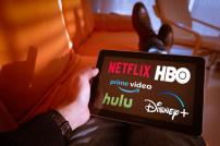 iPad mit Streaming-Anbietern