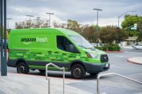 Lieferwagen Amazon Fresh